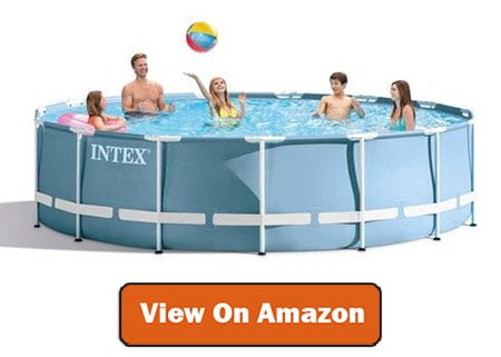 Intex Metal Above Ground Pool