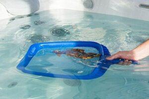 Pool water skimmer