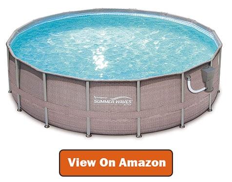 Best Summer Waves Frame Pool