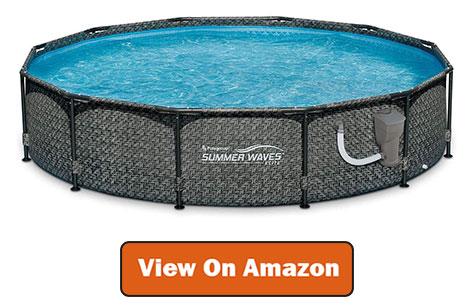Best Summer Waves Above Ground Pool